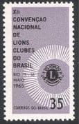 Brazil 1965 Lions Clubs  /  Welfare  /  People 1v (n28532)
