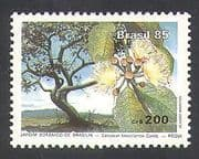 Brazil 1985 Botanical Gardens  /  FlowersTrees  /  Plants  /  Nature 1v (n38136)