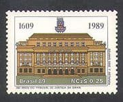 Brazil 1989 Law Courts  /  Justice  /  Order  /  Buildings  /  Architecture 1v (n38128)