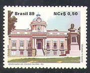 Brazil 1989 Military Academy  /  Buildings  /  Architecture  /  Army  /  Soldiers 1v (n38244)