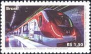 Brazil 2017 Underground/ Metro/ Railway/ Trains/ Rail/ Public Transport 1v (b9790p)