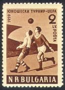 Bulgaria 1959 EUFA Youth Football Competition/ Sports/ Games/ Soccer/ Players 1v (n26329)
