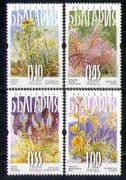 Bulgaria 2007 Flowers  /  Nature  /  Insects 4v set (n27692)