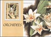 Cambodia 1999 Orchids/ Flowers/ Plants/ Nature 1v m/s (b9175)