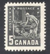 Canada 1957 Coal Mining  /  Minerals  /  Miner  /  Workers  /  Energy  /  Industry 1v (n34627)