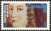 Canada 1973 Jeanne Mance/ Nurse/ Medical/ Health/ Welfare/ Nursing/ People 1v (n44591)