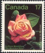 Canada 1981 Montreal Flower Show/ Roses/ Flowers/ Plant/ Nature 1v (n45471)