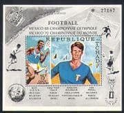 Chad 1970 Football World Cup  /  Olympic Games  /  Sports  /  Satellite 1v m  /  s (n34062)