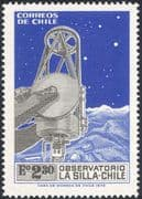 Chile 1973 Space/ Astronomy/ Science/ Telescope/ Stars/ Observatory 1v (n29813)