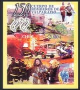 Chile 2001 Fire Engine  /  Fireman  /  Helicopter  /  Rescue  /  Emergency  /  Transport m  /  s n33363