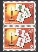 China 1981 Health  /  Welfare  /  Disabled Persons  /  Medical  /  Animation 2v set (n36343)
