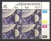 Ciskei 1992 SPACE  /  Planets 20c control blk rprt (n20157)