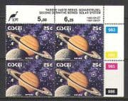 Ciskei 1993 SPACE  /  Planets 25c control blk rprt (n20158)