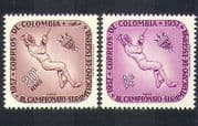 Colombia 1957 Fencing  /  Championships  /  Sports  /  Games  /  Animation 2v set (n37216)