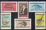 Colombia 1959 Humboldt  /  Monkey  /  Fish  /  Animals  /  Nature  /  Wildlife  /  Science 6v set n37192