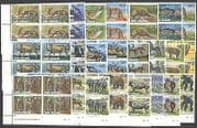 Cook Islands 1992 Animals  /  Birds  /  Insects  /  Marine  /  Nature  /  Wildlife 23v blks (n37696)