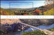 Croatia 2015 Bridges/ Viaducts/ Road/ Motoring/ Roads/ Transport/ Construction/ Architecture/ Engineering 2v m/s (n44666)