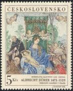 Czechoslovakia 1968 Albrecht Durer/ Art/ Artists/ Paintings/ StampEx 1v (n44808)