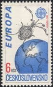 "Czechoslovakia 1991 Europa/ Space/ ""Magion 2""/ Satellite/ Science 1v (n44805)"