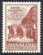 Denmark 1962 Watermill  /  Mill  /  Buildings  /  Architecture  /  Conservation 1v (n40928)