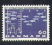 Denmark 1964 Fish  /  Chart  /  Graph  /  Sea Exploration Conference 1v (n37378)