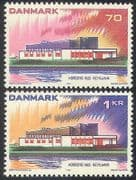 Denmark 1973 Nordic House  /  Building  /  Architecture  /  Postal Co-operation 2v (n40926)