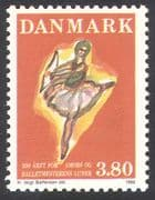 Denmark 1986 Ballet/ Dance/ Dancer/ Music/ Arts/ Culture/ Cupid 1v (n34614)