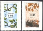 Denmark 2011 Europa/ Forests/ Moth Caterpillar/ Red Squirrel/ Trees/ Plants/ Insects/ Nature/ Environment/ Conservation 2v set s/a (n42642)