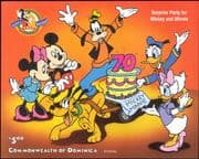 Dominica 1998  Disney/ Mickey Mouse 70th/ Minnie/ Cartoons/ Animation 1v m/s (ad1142)