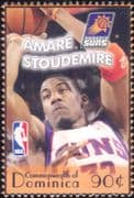 Dominica 2006  Amare Stoudemire/ Basketball/ Sports/ Games/ People 1v (s1872q)