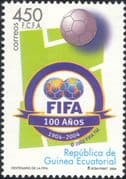 Equatorial Guinea 2004 FIFA 100th Anniversary/ Football/ Sports/ Soccer/ Games 1v (s1635b)