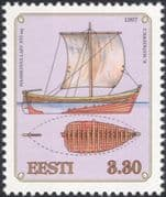 Estonia 1997 Baltic Sailing Ships/ Nautical/ Boats/ Transport/ History 1v (ee1174)