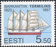 Estonia 1997 Baltic Sailing Ships/ Nautical/ Boats/ Transport/ History 1v (ee1175)