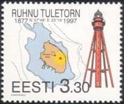 Estonia 1997 Lighthouse/ Maritime Safety/ Buildings/ Architecture/ Maps/ Charts/ Transport 1v (ee1009)