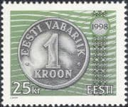 Estonia 1998 Coins/ Money/ Currency/ Commerce/ Business/ History 1v (ee1196)