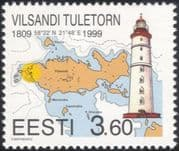 Estonia 1999 Lighthouse/ Maritime Safety/ Buildings/ Architecture/ Maps/ Charts/ Transport 1v (ee1011)