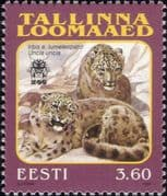 Estonia 1999 Snow Leopard/ Cats/ Conservation/ Animals/ Nature/ Wildlife/ Zoo 1v (n19466)