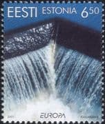 Estonia 2001 Europa/ Water Resources/ Environment/ Conservation/ Nature 1v (ee1134)