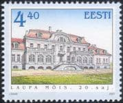 Estonia 2001 Laupa Manor/ Architecture/ Buildings/ Heritage/ History 1v (ee1136)