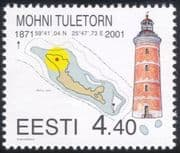 Estonia 2001 Lighthouse/ Maritime Safety/ Buildings/ Architecture/ Maps 1v (ee1013)