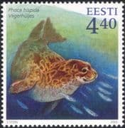 Estonia 2003 Ringed Seal/ Animals/ Wildlife/ Nature/ Conservation 1v (ee1040)