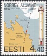 Estonia 2005 Lighthouse/ Maritime Safety/ Buildings/ Architecture/ Maps/ Charts/ Transport 1v (ee1017)