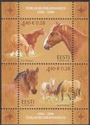 Estonia 2006 Tori Stud Farm/ Horses/ Animals/ Nature/ Transport/ Sport 2v m/s (n16565)