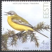 Estonia 2006 Yellow Wagtail/ Birds/  Wildlife/  Nature 1v (n16158)