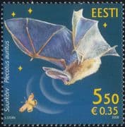 Estonia 2008 Bats/ Wildlife/ Nature/ Insects/ Animals/ Conservation 1v (n26671)