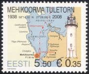 Estonia 2008 Lighthouse/ Maritime Safety/ Buildings/ Architecture 1v (n19658)
