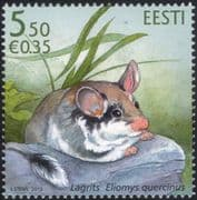 Estonia 2010 Garden Dormouse/ Animals/ Wildlife/ Nature/ Conservation/ Dormice 1v (ee1044)
