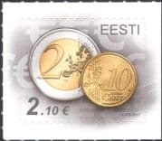 Estonia 2011 Euro Currency/ Coins/ Money/ Commerce/ Business 1v s/a (ee1203)