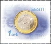 Estonia 2011 Euro Currency/ Coins/ Money/ Commerce/ Business 1v s/a (ee1204)