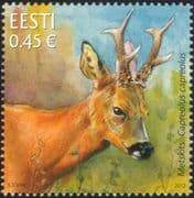 Estonia 2012 Roe Deer/ Animals/ Wildlife/ Nature/ Conservation 1v (ee1046)